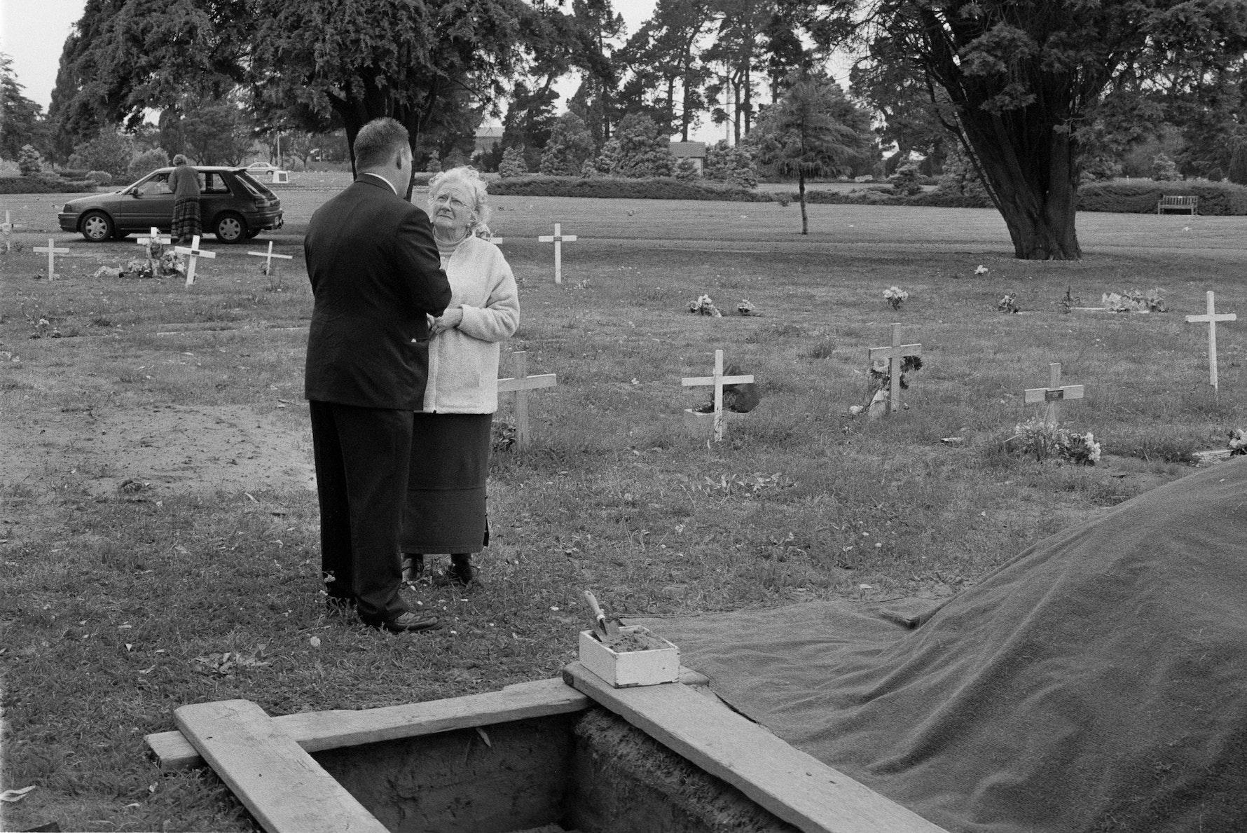 Indigent's Funeral - graveside