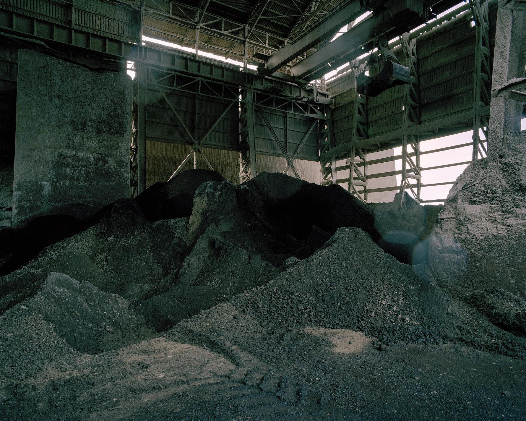 Coal store, Holcim Cement Plant Cape Foulwind, 2016