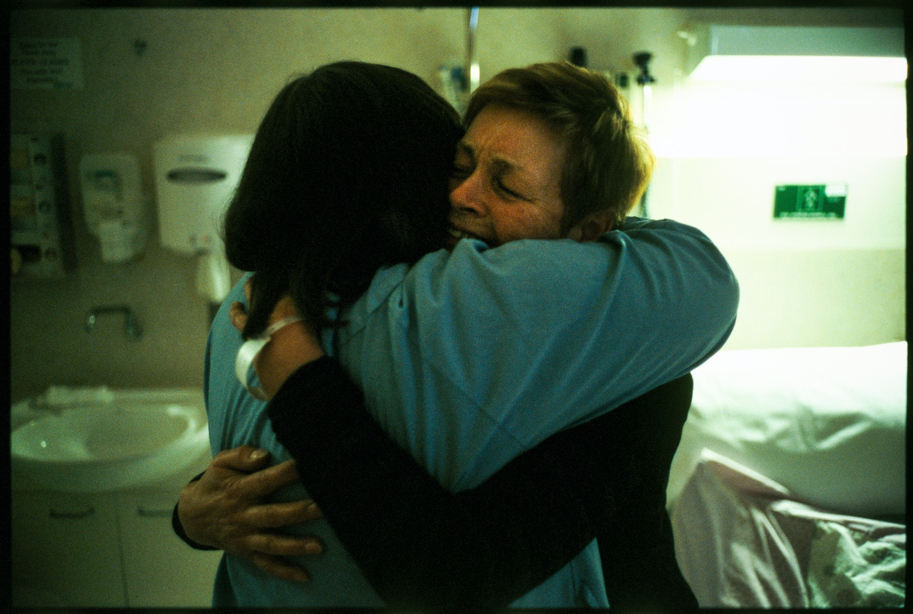 Mum and Bron, Isolation Room, 2006.
