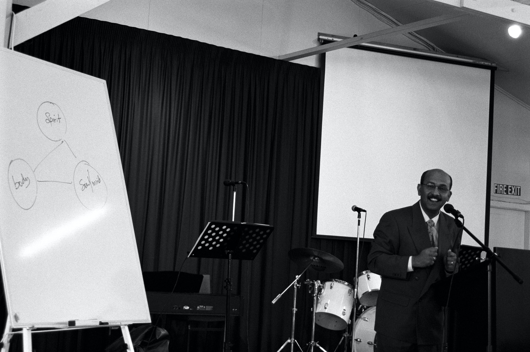 Spirit, soul and body, Viji Vijiyan preaching, Christchurch Christian International Life Centre