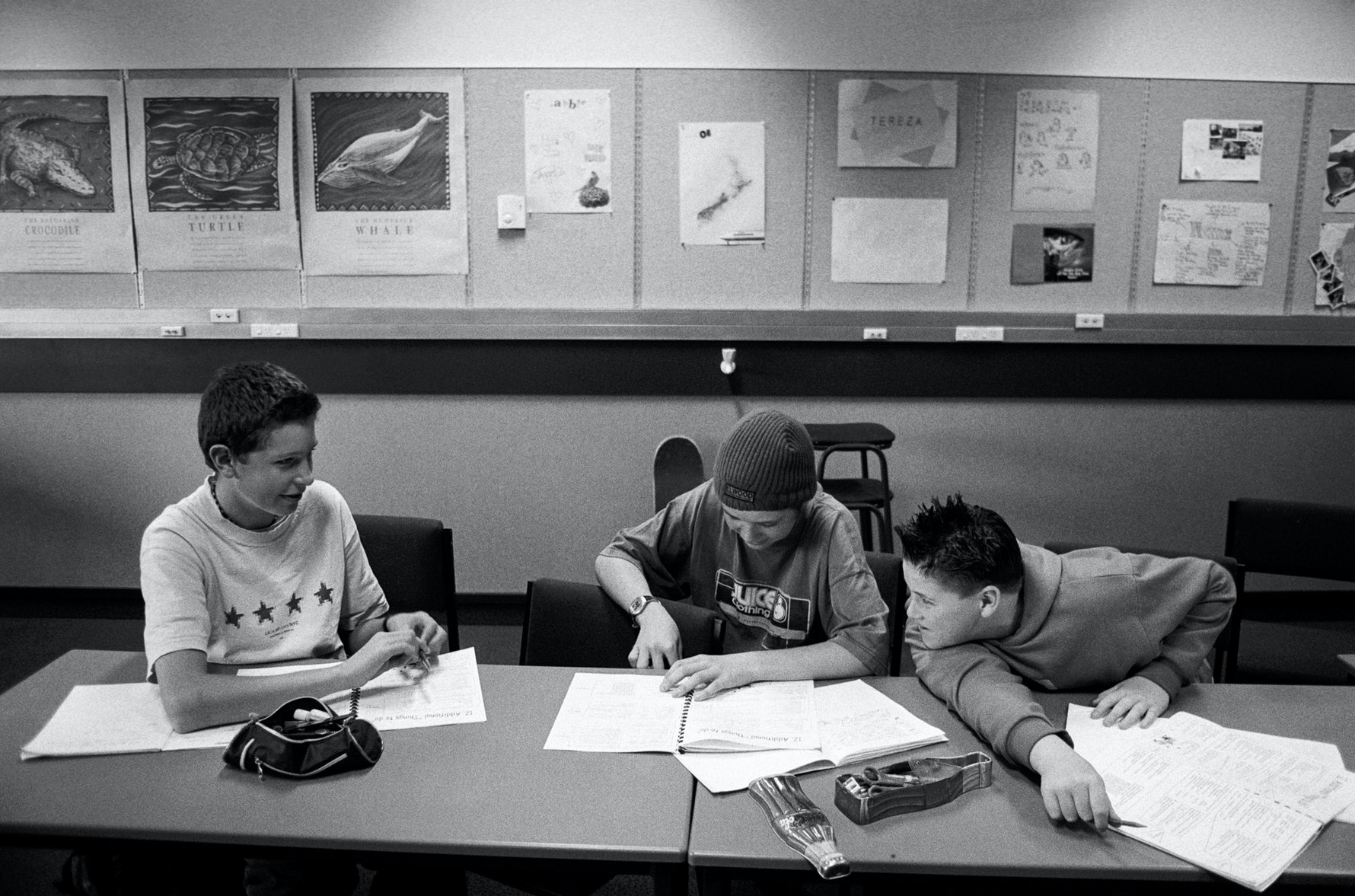 Students, classroom, Hagely Community College