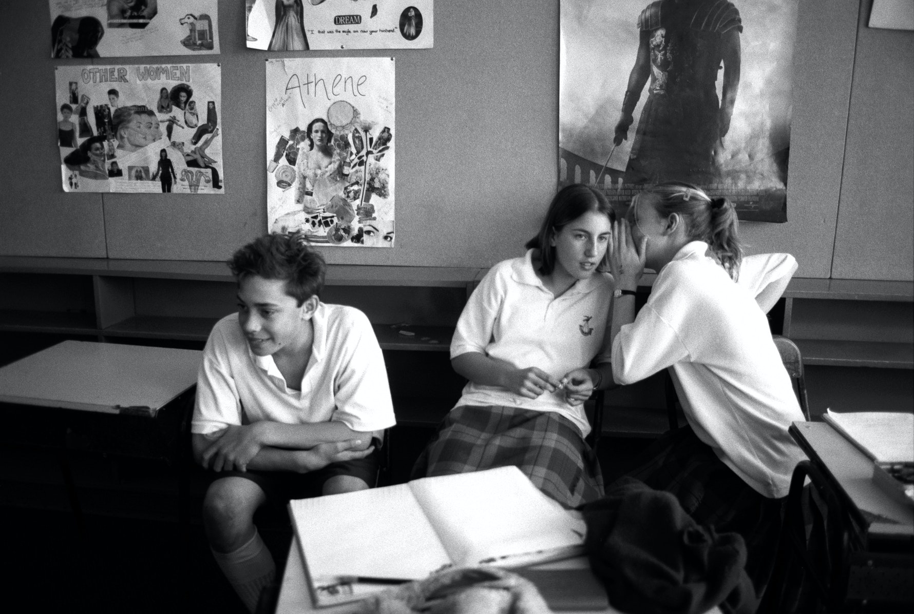Students, classroom, Cashmere High