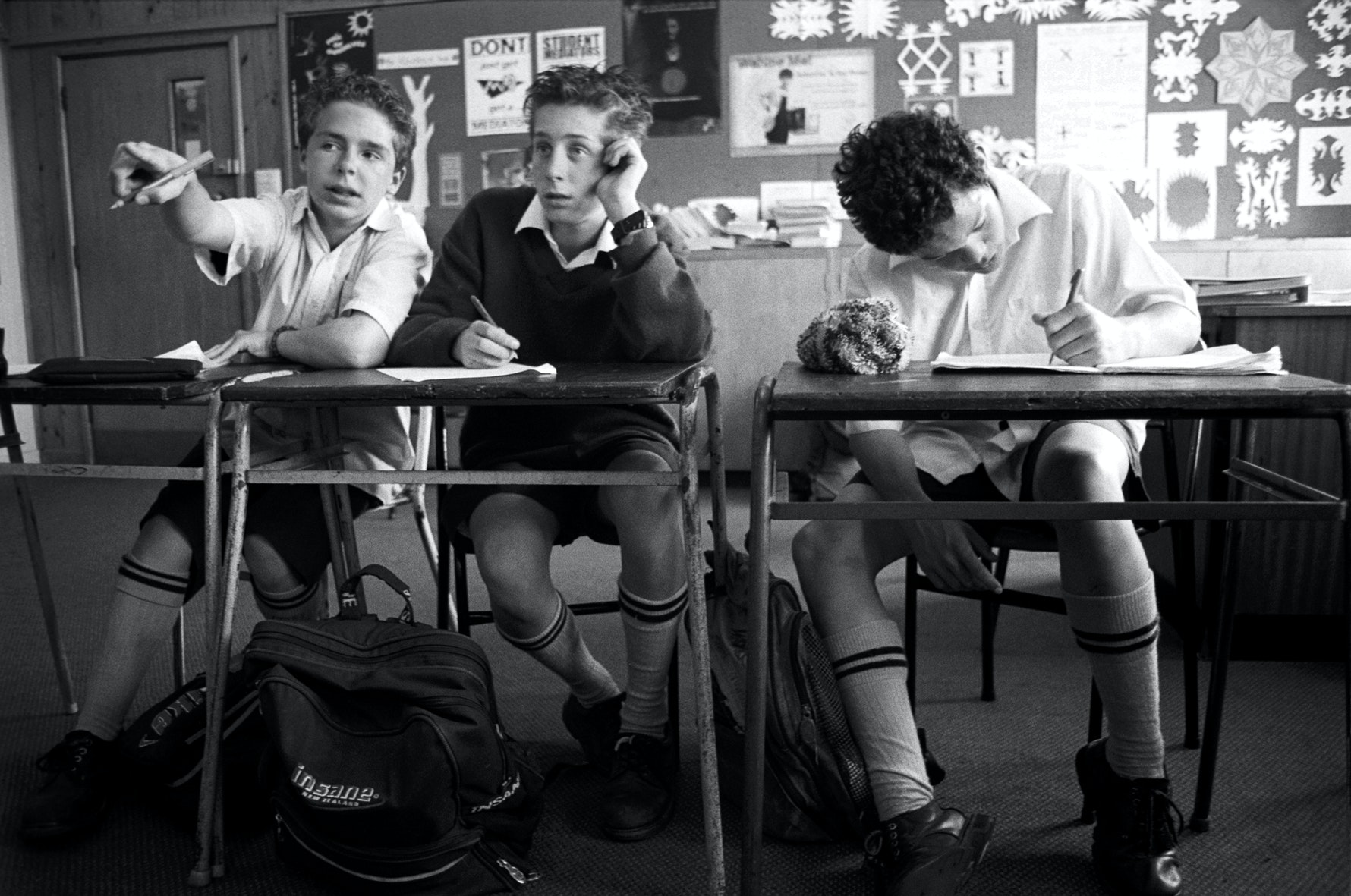 Students, classroom, Aranui High