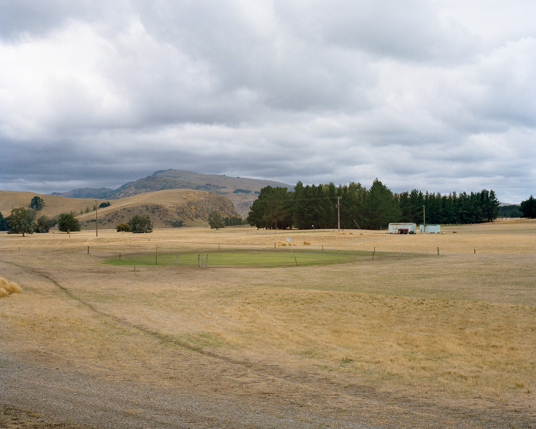 Kaituna Golf Course, Kaitorete Spit