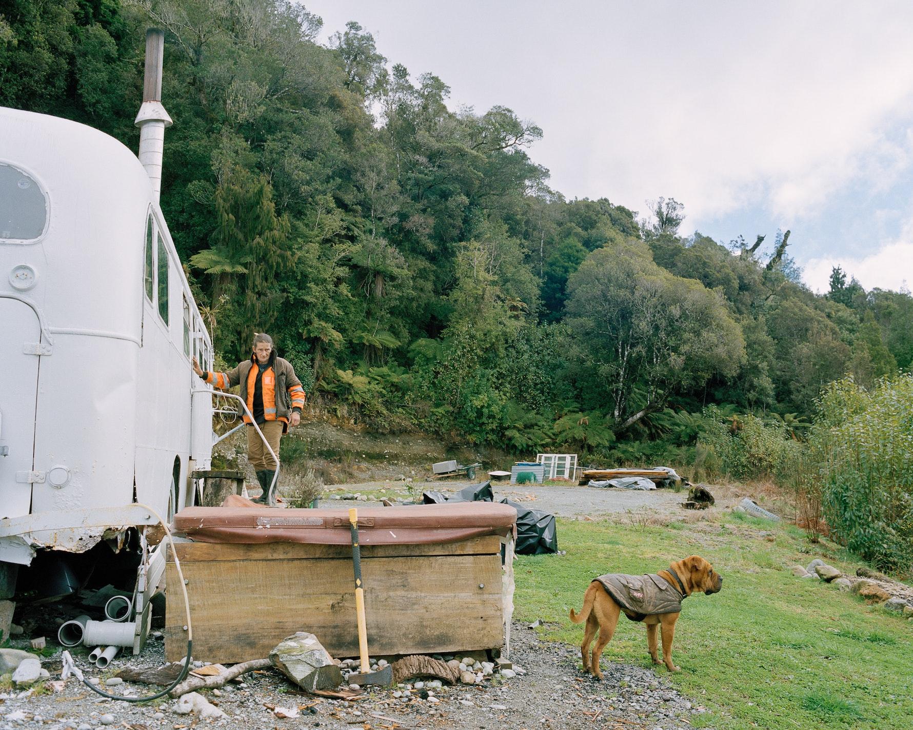 Brian, Taramakau River