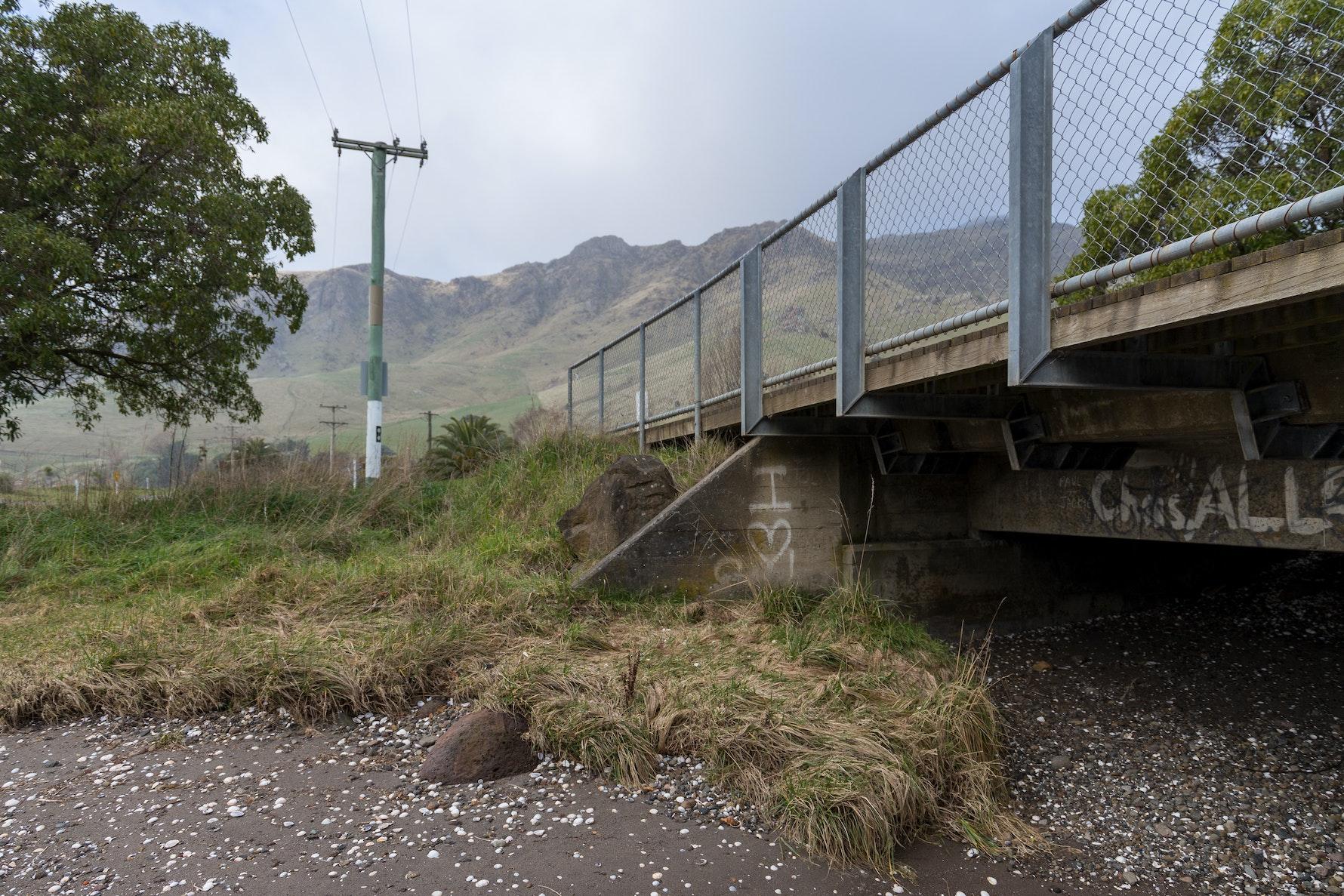 Purau Bay, Purau pā site.