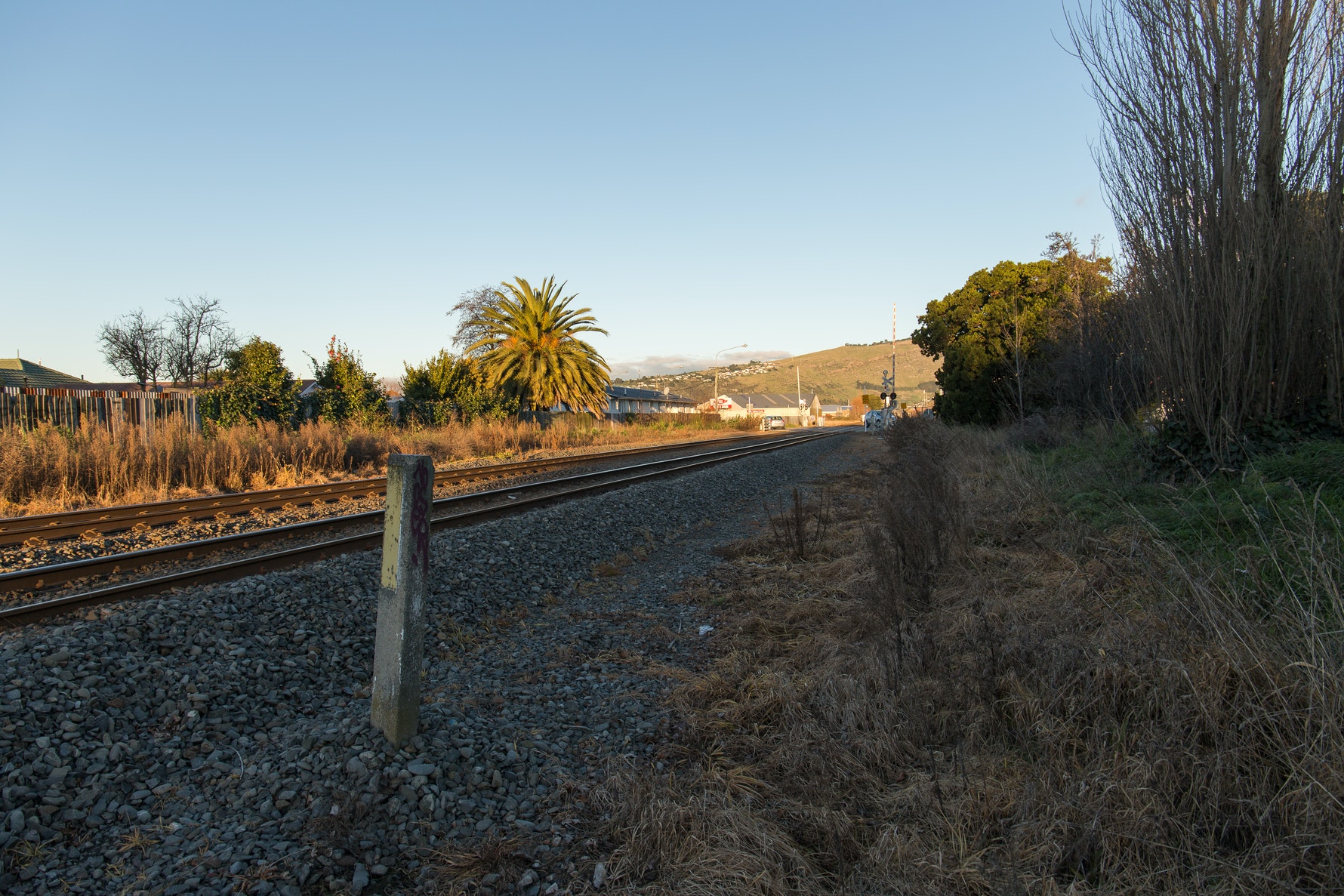 Opawa train station site, Ōpāwaho pā site, Poho Are-Are track.