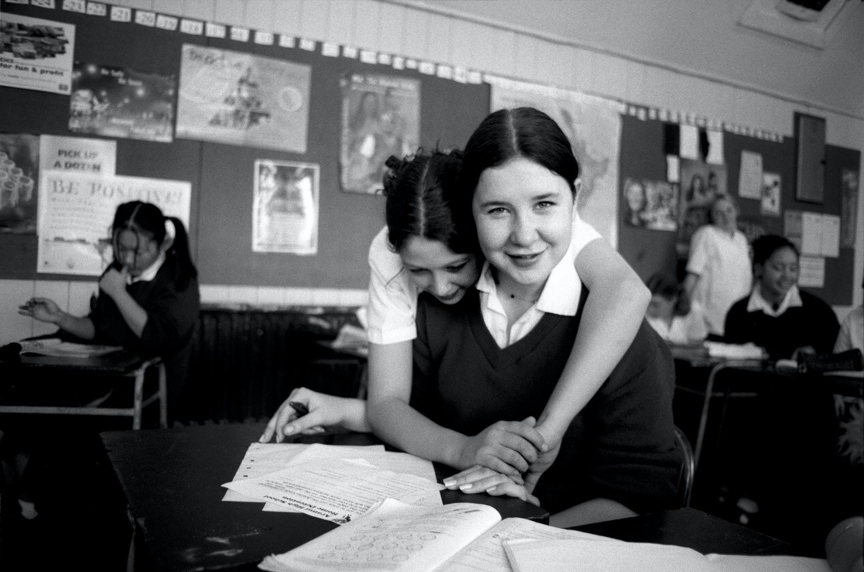 Student, classroom, Aranui High