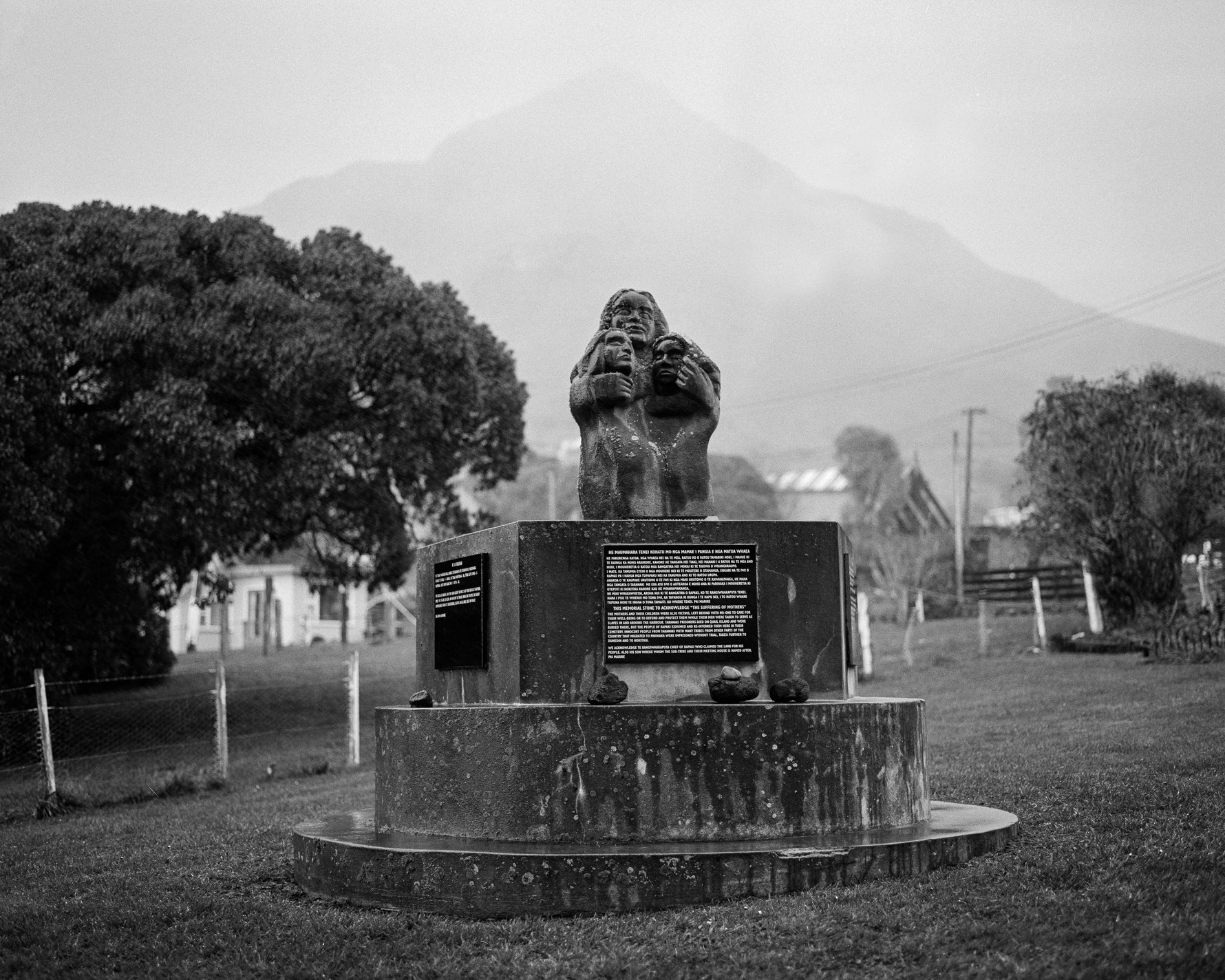 Memorial for the Taranaki Prisoners.