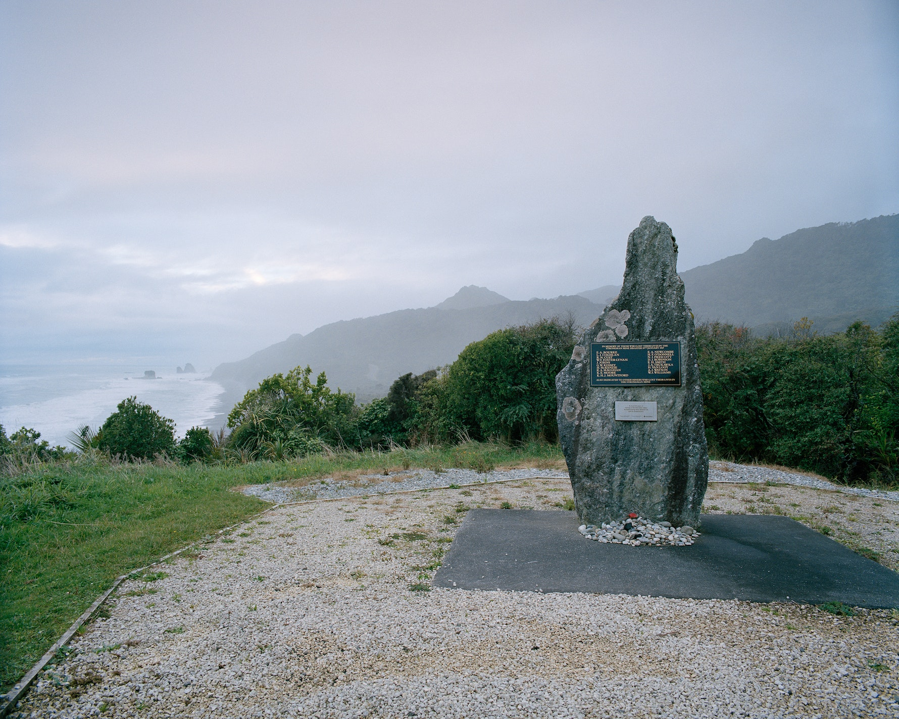 Strongman Mine Memorial, Coast Road, 2015