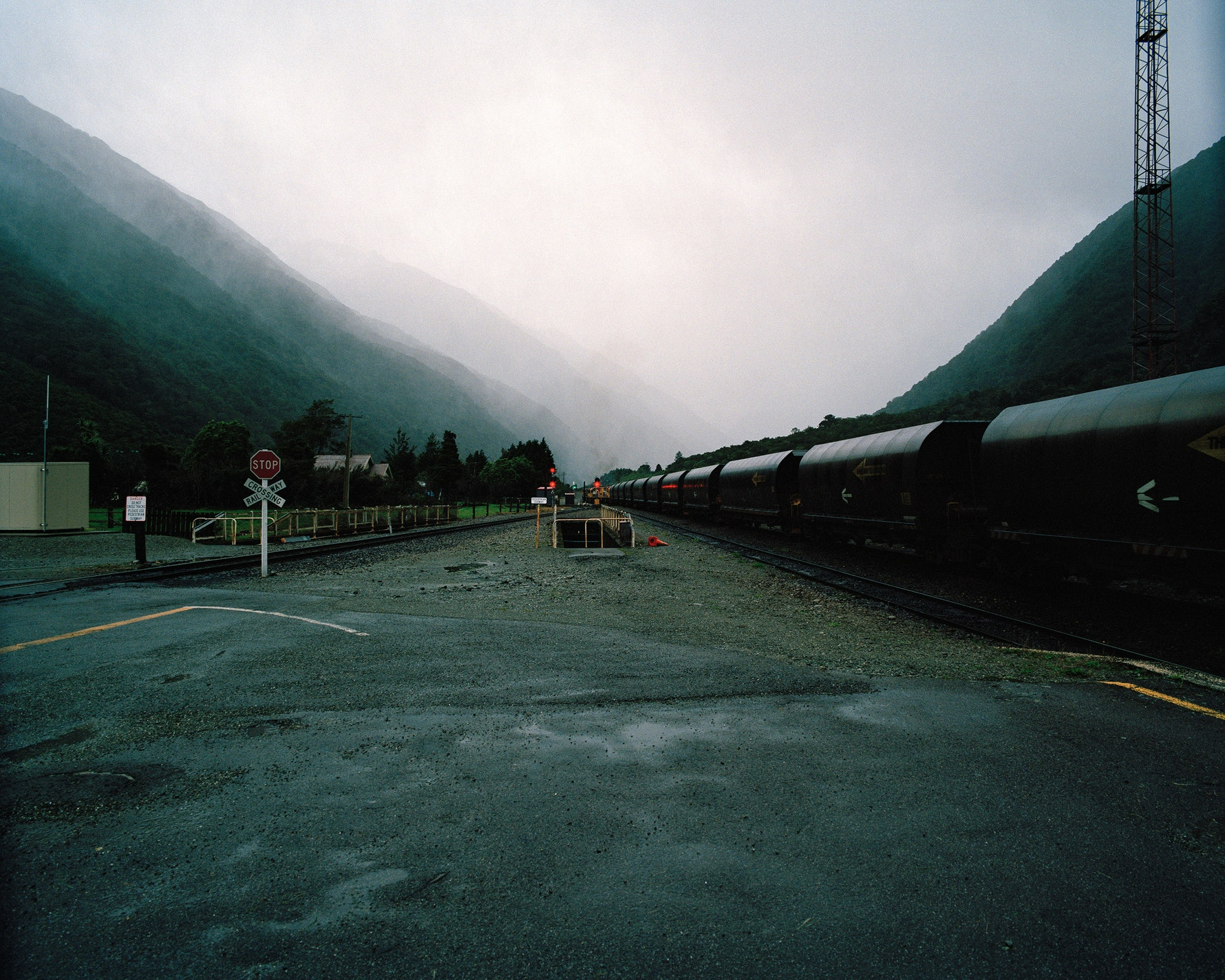 Coal train, Otira, 2015