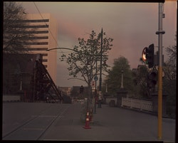 "Looking towards ChristChurch Cathedral. Zeiss Protar 12"" f32 - 2 minutes"