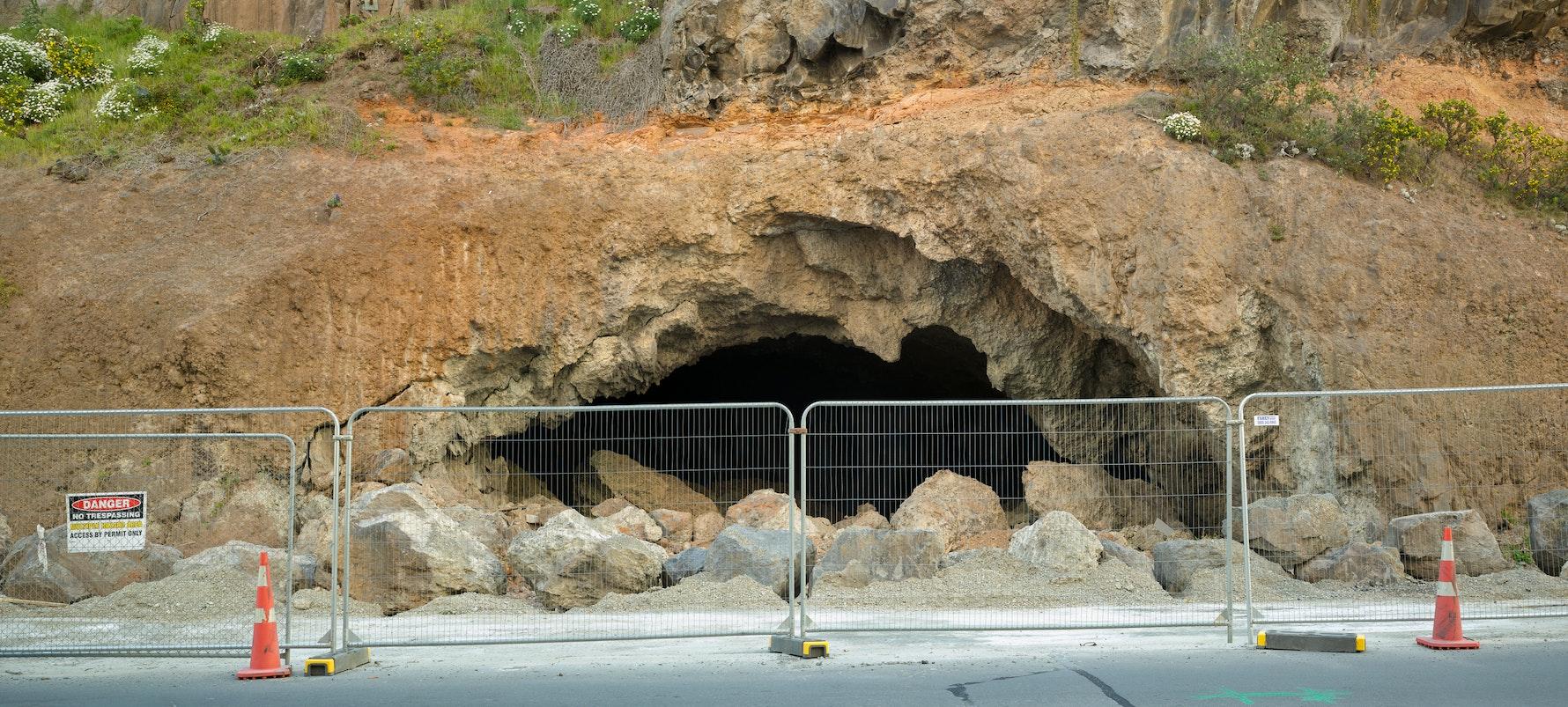 Te Ana o Hineraki / Moa Bone Point Cave, 2016.