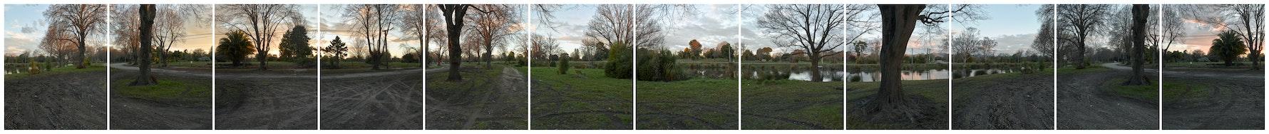 River Road, 2018. 360 degree panorama.